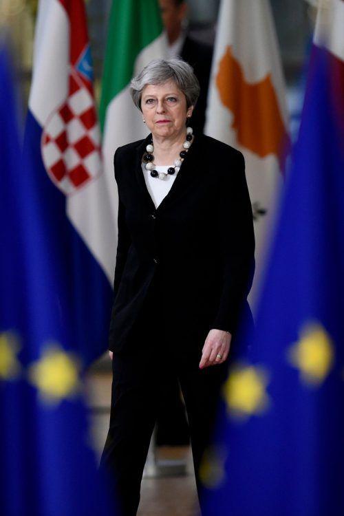 Premierministerin May hatte sich mehr Zugeständnisse gewünscht. AFP
