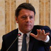 PD-Chef Renzi warnt Italiener vor extremistischer Regierung