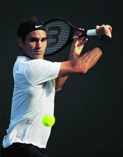 Roger Federer legt nach der Niederlage in Miami eine Pause ein.ap