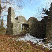 Ruinenrestaurierung wird fortgesetzt