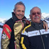Echte Wintersport-Freundschaft