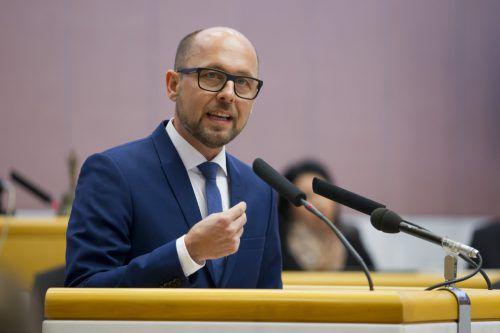 SP-Klubchef Ritsch ist 2020 in Bregenz Bürgermeister-Kandidat. Hartinger