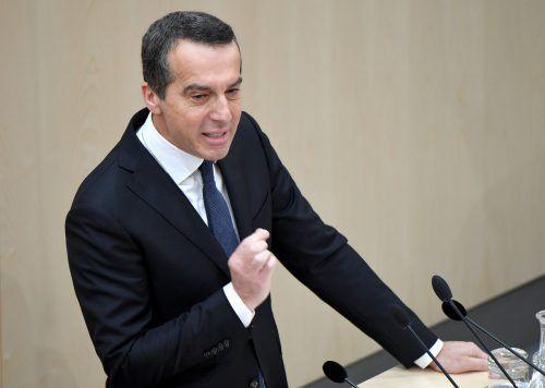 SPÖ-Chef Christian Kern kritisierte die beschlossenenUni-Zugangsregeln.APA