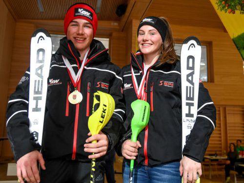 Starke Leistungen zeigten die Läufer des Raiffeisen-SCBW bei der alpinen Schülerlandesmeisterschaft in Laterns.