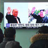 Trump und Kim planen historischen Gipfel