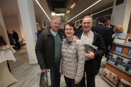 Thomas Maier, Petra Vogt-Maier und Walter Vogt.
