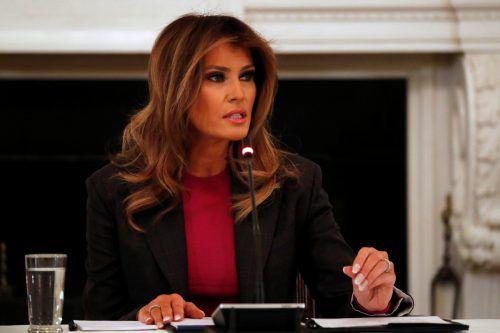 Trotz Kritik lässt sich Melania Trump von ihrem Vorhaben nicht abbringen. Rts