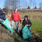 Dornbirner sammelten fleißig Müll