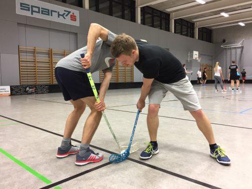 Unihockey wird als Sportart immer beliebter. Die Feldkirch Knights zählen mittlerweile schon 65 Mitglieder. VN/Lorenzi