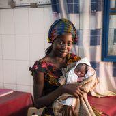 Mutter-Kind-Pakete für Senegal