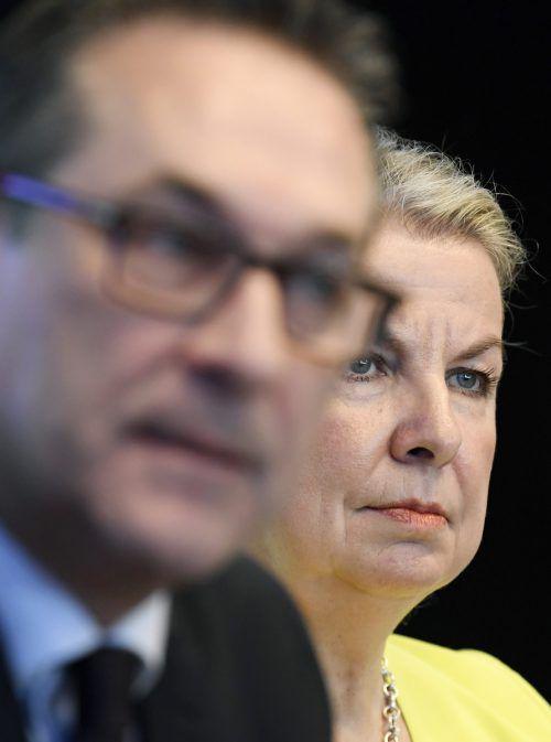 Anders als die ÖVP sind Strache und Hartinger-Klein für den Rechtsanspruch.APA