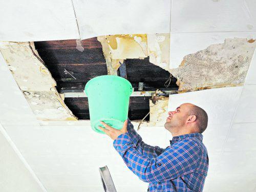 Versteckt Versteckte Mängel fallen auch bei einer gebrauchten Immobilie unter die Gewährleistungspflicht.