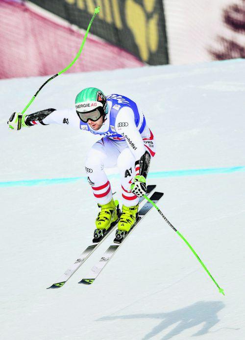 Vincent Kriechmayr fand beim Weltcupfinale in Aare wie schon auf der Abfahrt auch im Super-G die Ideallinie.reuters