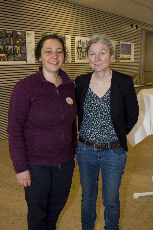 Vizebgm. Caroline Terzer (Göfis) und Claudia Hämmerle (Feldkirch).