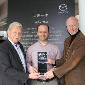 Mazda Maier Götzis wieder bester Mazda-Händler Österreichs