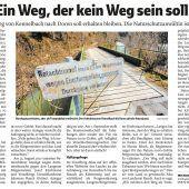 Wanderweg an der Bregenzerach