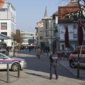 Verwirrter sorgte für Alarm in Dornbirn. B1