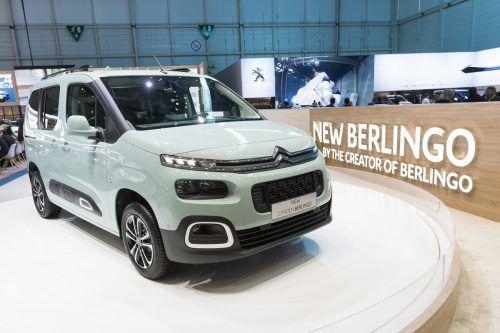 Weltpremiere am Autosalon in Genf: Citroën hat die dritte Generation des Berlinge enthüllt.