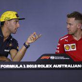 Formel-1-Piloten als nette Jungs