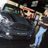 Top-Autohäuser des Landes zeigen Modellvielfalt