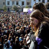 Spanierinnen treten in den Streik
