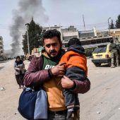 Afrin: Auf der Flucht