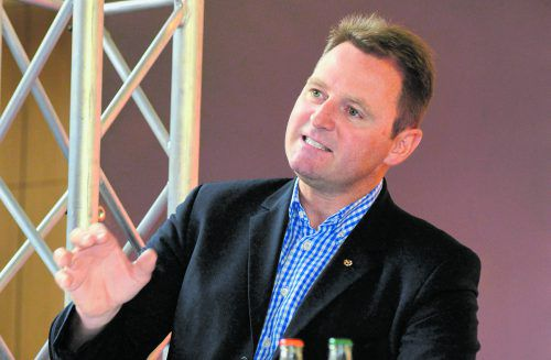 Zufrieden mit der Breite und den Erfolgen im System: Skiverbandspräsident Patrick Ortlieb. vn