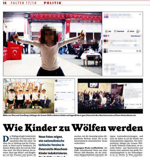 """Aktueller Bericht der Wiener Zeitung """"Falter"""", in der auch Hard erwähnt wird."""