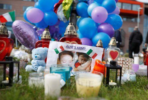 Alfie Evans wurde nur 23 Monate alt. Reuters