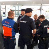 Schwerpunktaktion mit Bodycams am Dornbirner Bahnhof
