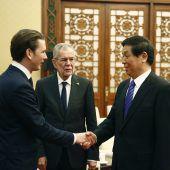 Regierungsspitze zieht China-Bilanz