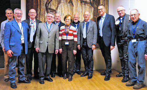 An der jüngsten Generalversammlung nahm neben Gesundheitslandesrat Christian Bernhard (3. v. r.) auch die Witwe des Gründers, Herlinde Eichberger, teil.Verein