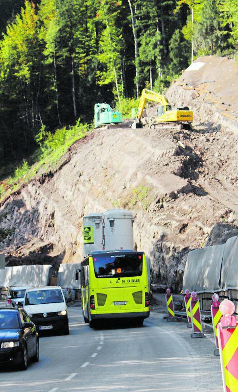 An der L 200 soll es im Juli zu einer Totalsperre des Verkehrs zwischen Egg und Müselbach kommen. stp