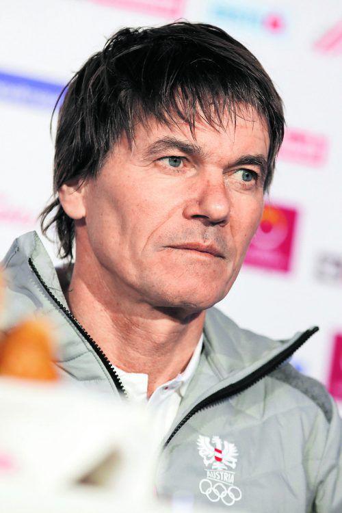 Andreas Felder ist als neuer Cheftrainer der ÖSV-Skispringer im Gespräch.gepa