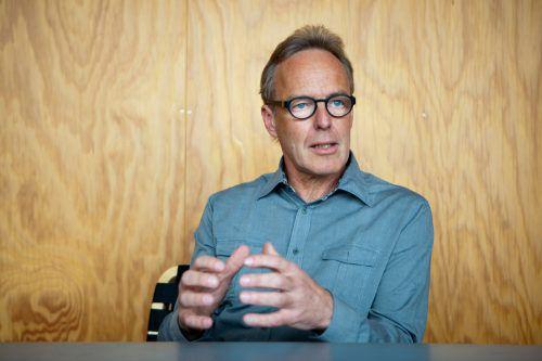 Architekt Hermann Kaufmann ist einer der Referenten beim Symposium. VN/hartinger