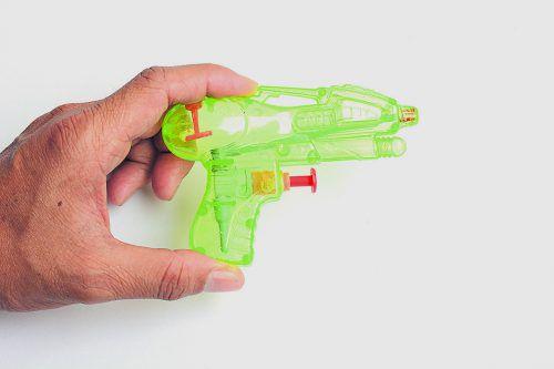 Auch bei Spielzeugpistolen ist für die Justiz Schluss mit lustig.