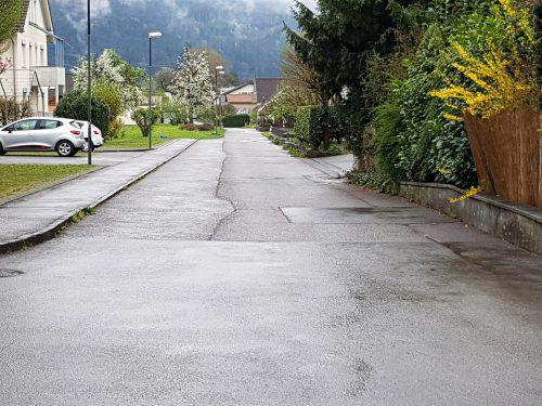 Auch die Karolingerstraße ist von Sanierungsarbeiten betroffen. Gemeinde