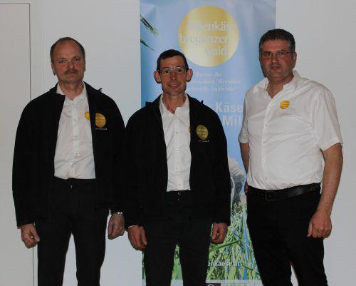 Aufsichtsrat Stv. Hubert Kaufmann, AR Vors. Lothar Sieber, GF Hermann Metzler.