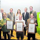Auszeichnungen für Obstveredler