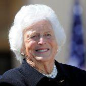 Frühere US-First Lady Barbara Bush gestorben