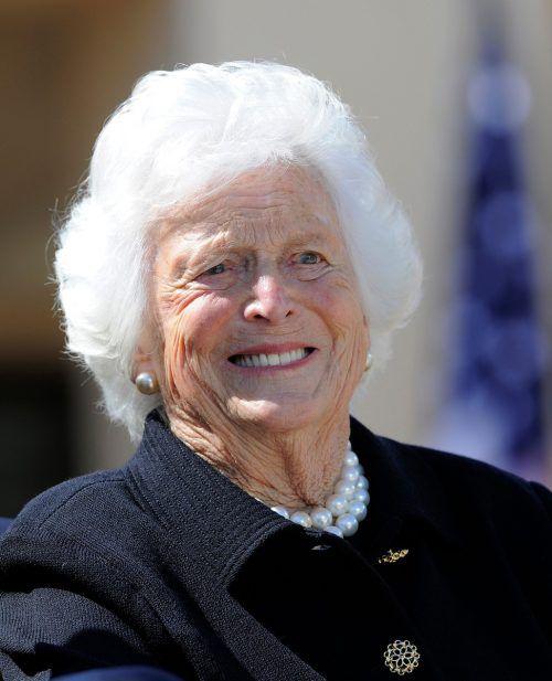 Barbara Bush war zeit ihres Lebens sehr beliebt. AFP
