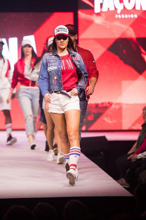 Bei der Modeschau in der Halle 1 werden die neuesten Trends präsentiert.VN/Steurer