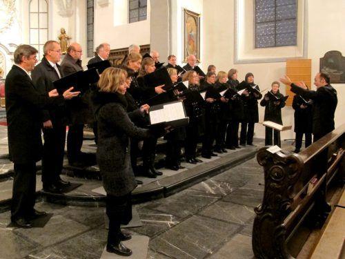 Beim Jubiläumskonzert wird der Kammerchor Feldkirch unter Benjamin Lack Anton Bruckners Messe in e-Moll aufführen. Jurmann
