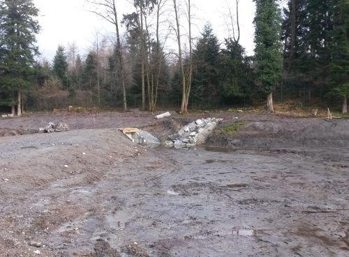 Bis Juni dieses Jahres soll das Hochwasserschutzprojekt Wolfgangsbach im Feldkircher Stadtteil Tosters fertiggestellt sein. Stadt