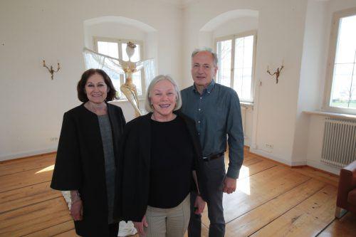 Christine, Brigitte und Hubert Stadler.