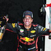 Coup von Ricciardo in China
