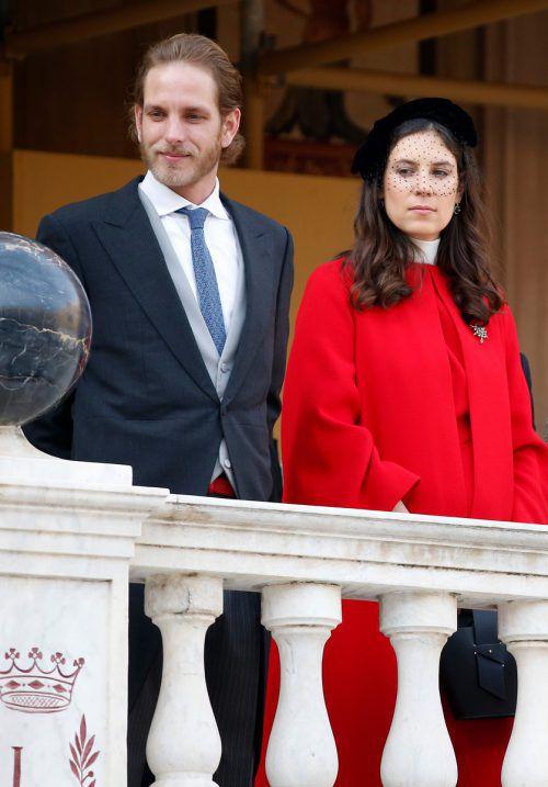 Das dritte Kind von Andrea Casiraghi und Tatiana Santo Domingo heißt Maximilian Rainier.AFP