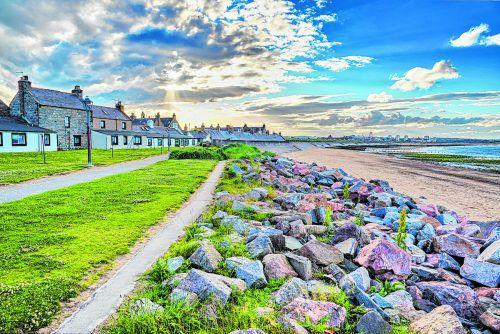 Das ehemalige Fischerdorf zählt heute zu den beliebtesten Wohngegenden Aberdeens.