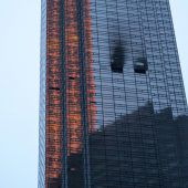 Ein Toter nach Brand im Trump Tower