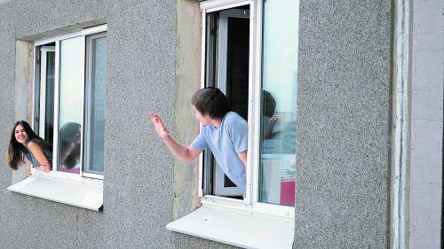 Das Gegenteil von unleidlichem Verhalten ist gute Nachbarschaft.foto: shutterstock